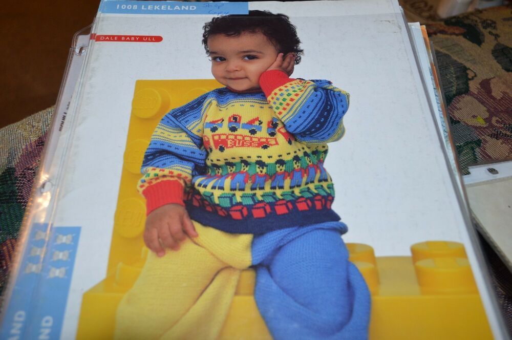 Dale Of Norway Knitting Pattern Books : Dale of Norway Knitting Pattern 1008 Lekeland Dale Baby Ull eBay