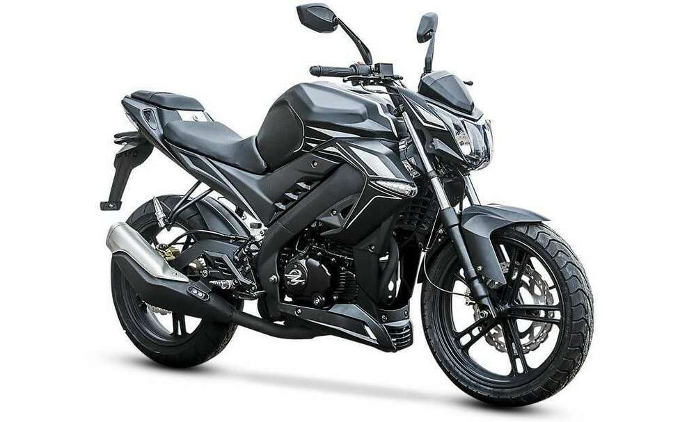 zipp vz3 naked bike 125 ccm 4 takt motorrad bike neu 4. Black Bedroom Furniture Sets. Home Design Ideas