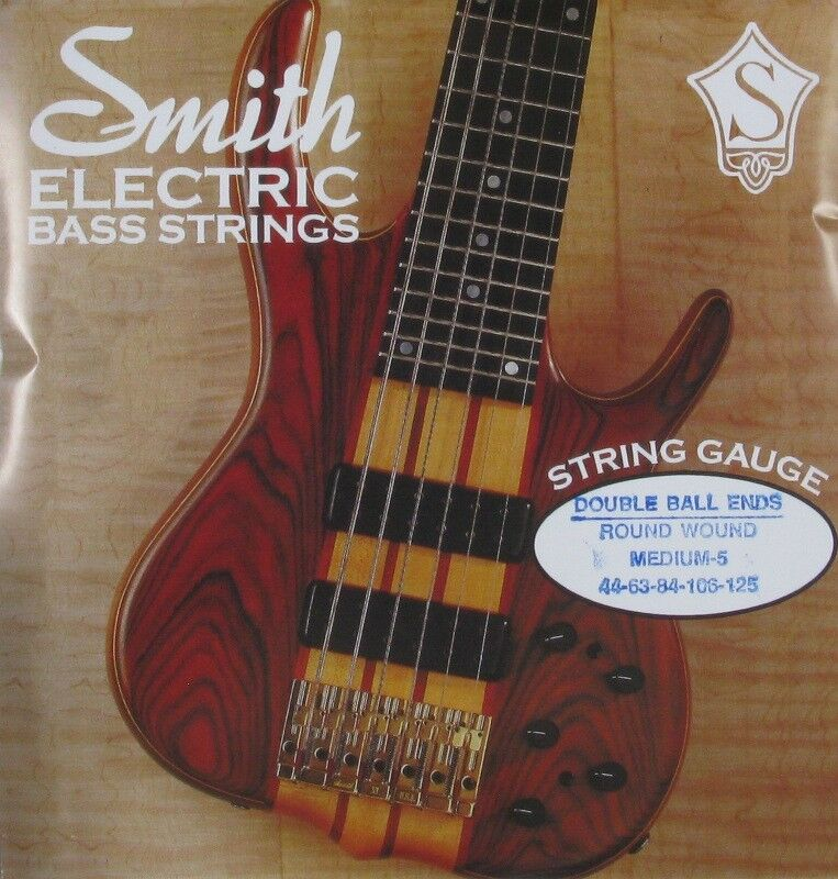 ken smith db rwm 5 double ball end bass guitar strings medium 5 39 s 44 125 ebay. Black Bedroom Furniture Sets. Home Design Ideas