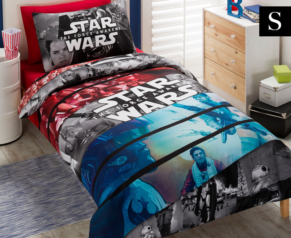Star Wars Movie Conflict Single Bed Duvet Quilt Doona