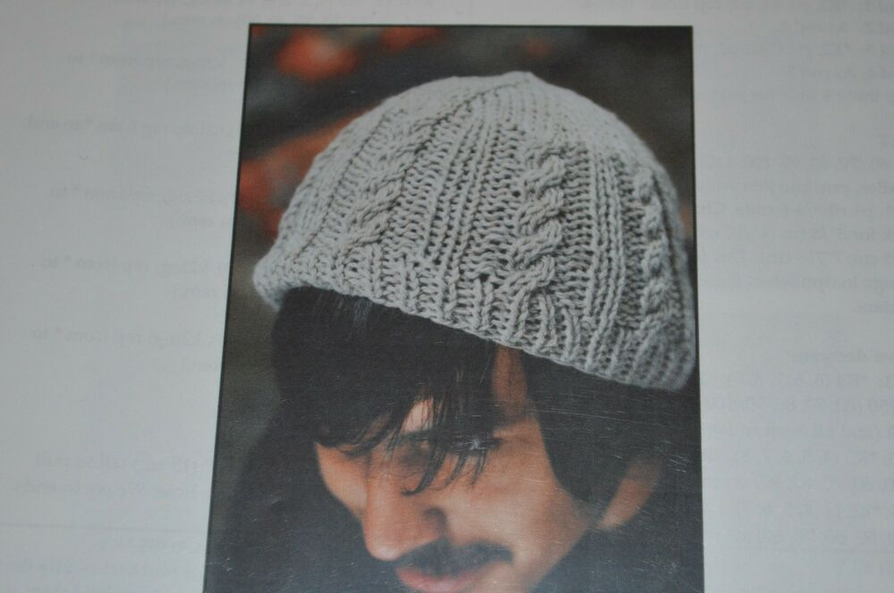 Knitting Pattern For An Aran Hat : Figheadh Knitting Pattern Basic Aran Hat eBay