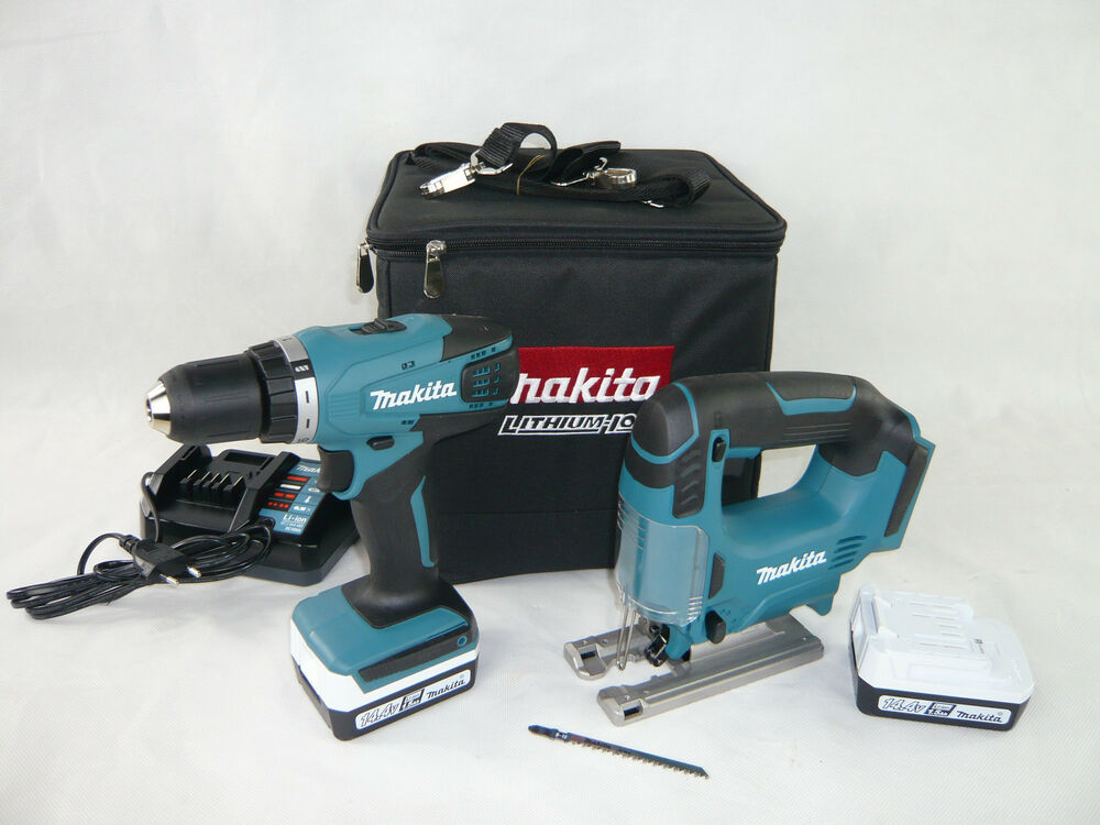 makita 14 4v combo kit dk14008x1 akku schrauber df347d. Black Bedroom Furniture Sets. Home Design Ideas