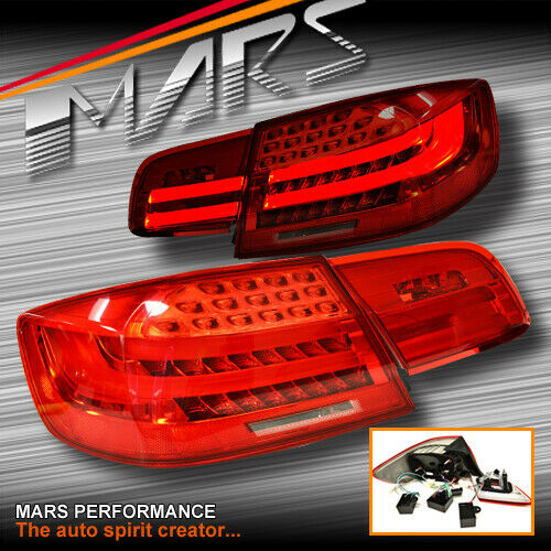 M3 Lci Style 3d Stripe Bar Led Tail Lights For Bmw 3