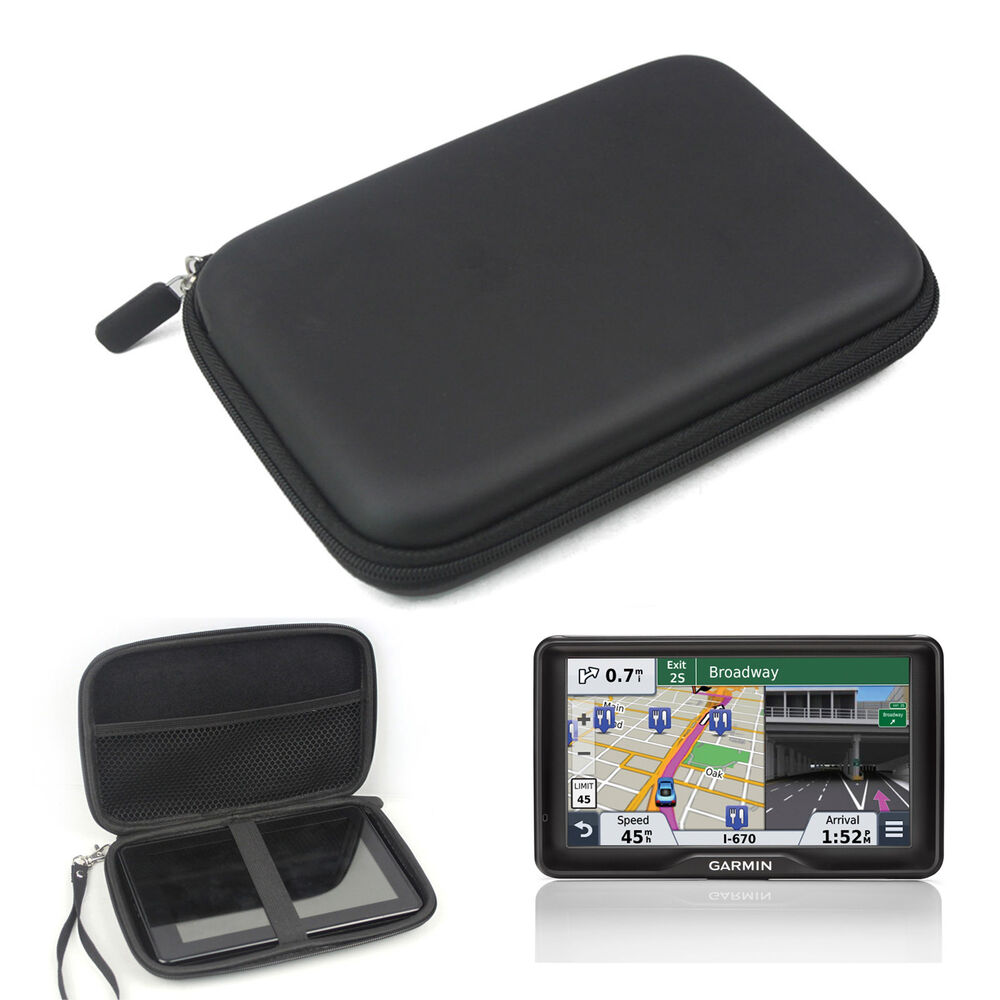 7 inch outdoor traveling protect portable case bag for garmin nuvi tomtom gps ebay. Black Bedroom Furniture Sets. Home Design Ideas