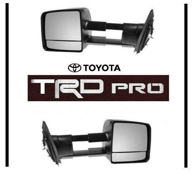 2015 Toyota Tundra Towing Mirrors >> 2015 2016 TOYOTA TUNDRA TRD PRO TOW MIRROR SET TOWING MIRRORS OEM OE | eBay