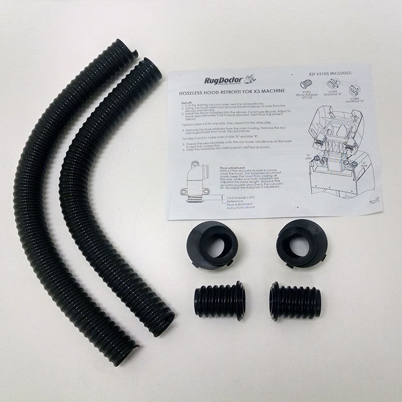 Rug Doctor Hose Kit Converts To Hoseless Hood Design