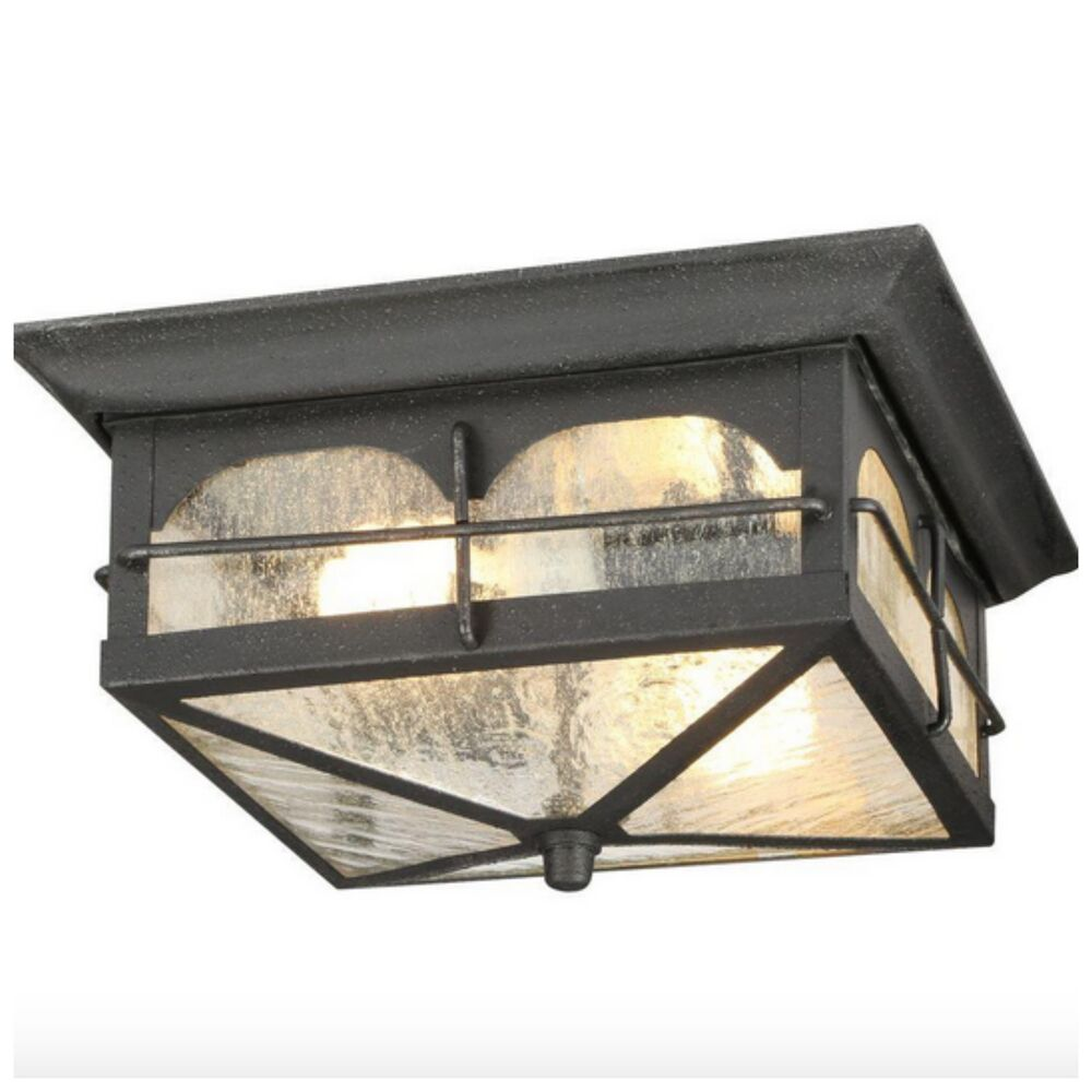Porch Light Pendant: Outdoor Exterior Porch Flush Mount Ceiling Light Lighting