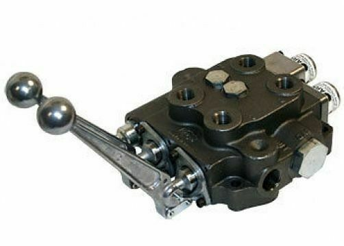 Hydraulic Valve Parts : Double spool hydraulic valve cross sbaf w float open