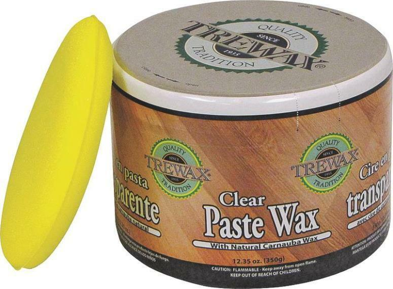 New Trewax 887101016 Clear Paste Wax Protects Amp Polishes