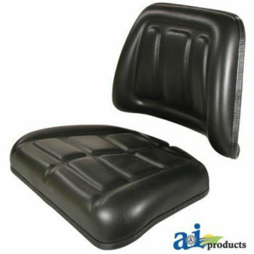 A For 555a Backhoe Seat : Massey ferguson ford tractor seat cushion kit backrest
