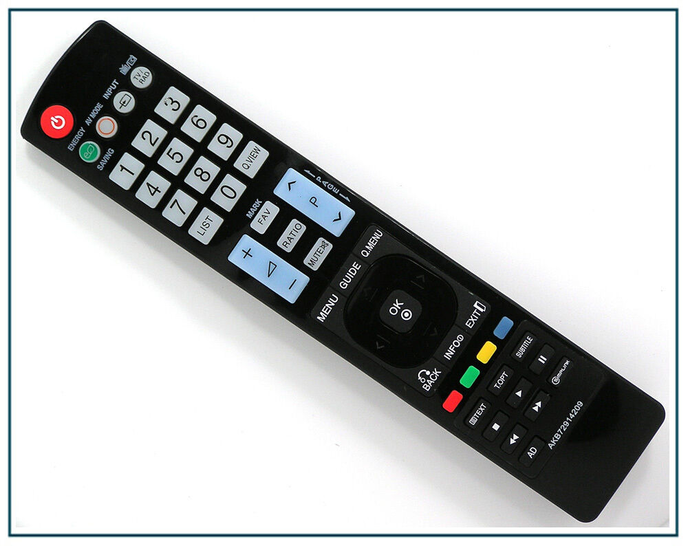 ersatz fernbedienung f r lg akb72914209 tv fernseher remote control neu ebay. Black Bedroom Furniture Sets. Home Design Ideas