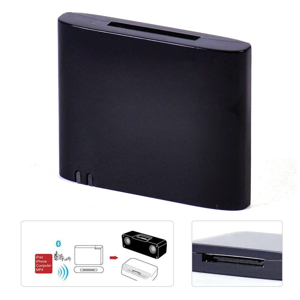 portable bluetooth music receiver adapter fit for bose sounddock series i ii 10 ebay. Black Bedroom Furniture Sets. Home Design Ideas