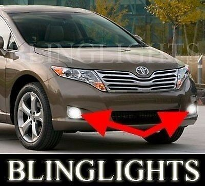 2009 2012 toyota venza xenon halogen fog lamps driving. Black Bedroom Furniture Sets. Home Design Ideas