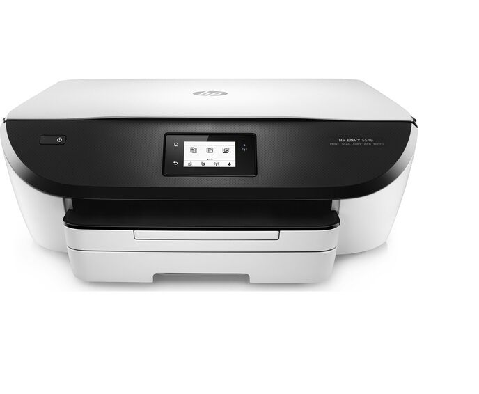 hp envy 5546 home photo all in one wireless inkjet printer up to 12 ppm ebay. Black Bedroom Furniture Sets. Home Design Ideas