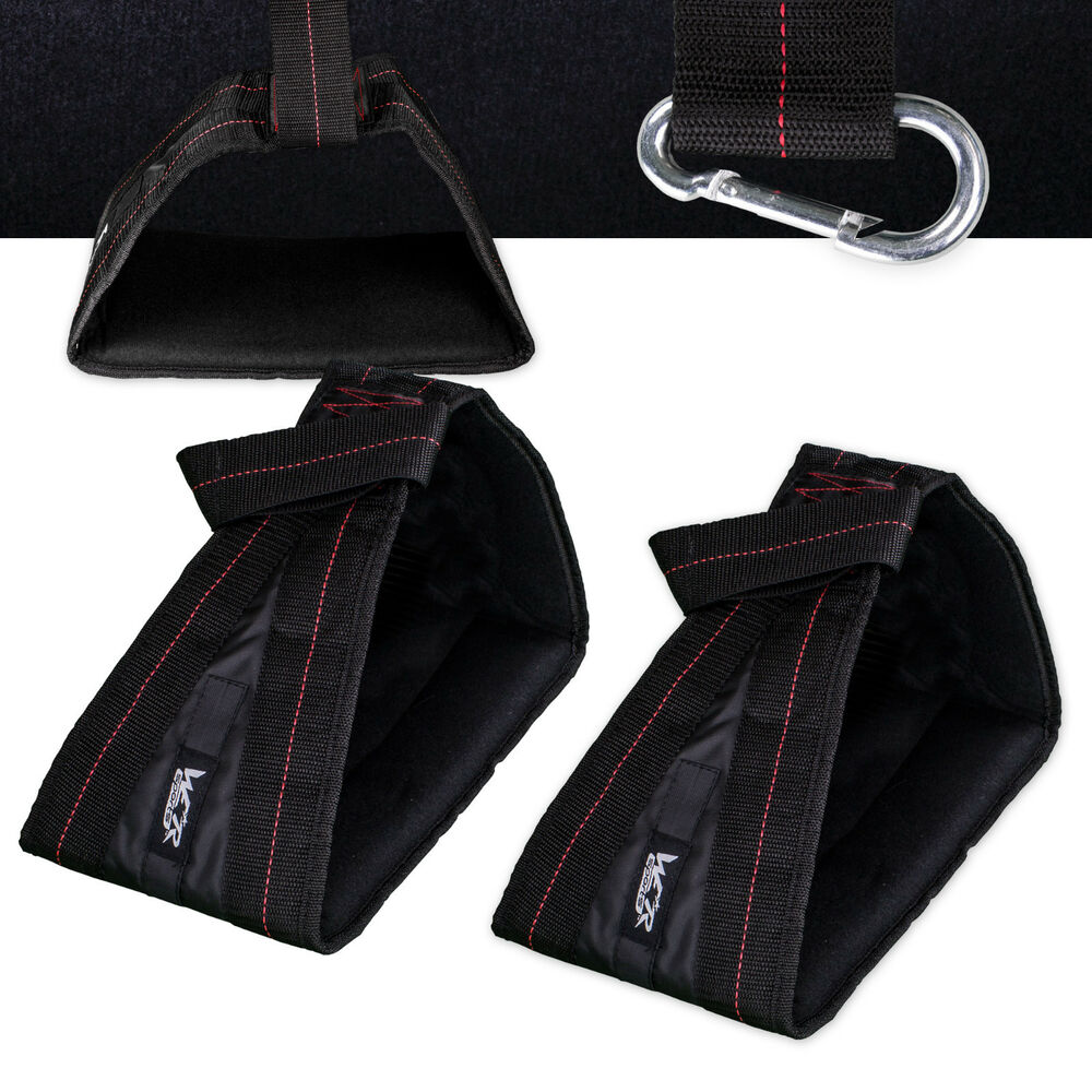 Abdominal straps crunch weight lifting door hanging gym chinning - Ab Slings Weight Lifting Door Hanging Abdominal Crunch Abs Straps Chinning Bar Ebay