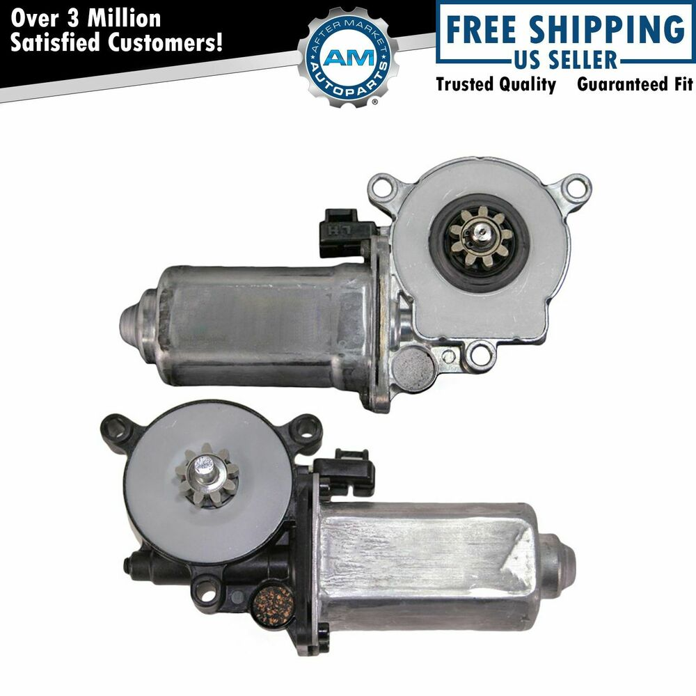 Power Window Lift Motors Pair Set For Buick Cadillac Olds