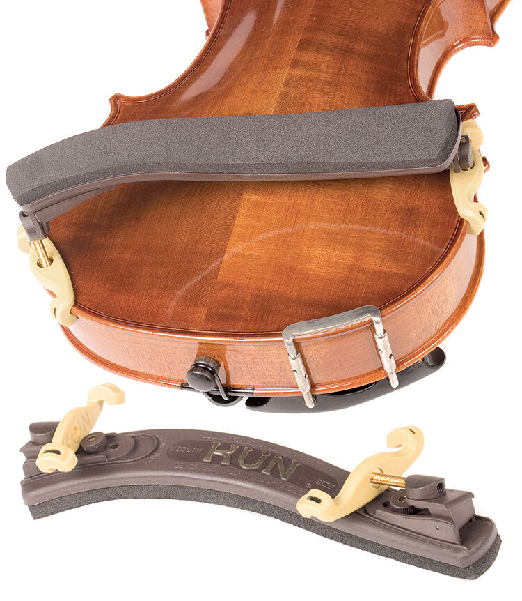 how to use a kun violin shoulder rest