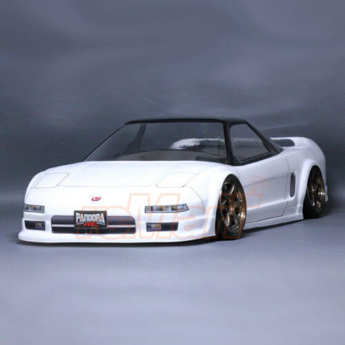 Pandora RC Cars Honda NSX 1:10 Drift 198mm Clear Body Set