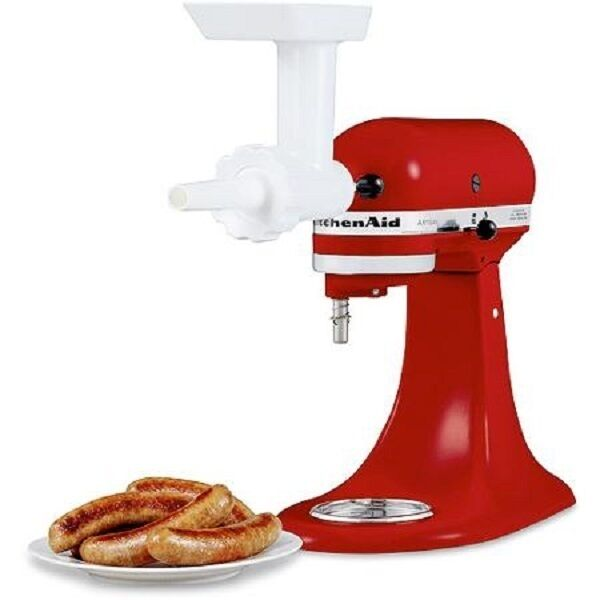 KitchenAid Sausage Stuffer Kit Stand Mixer Food Grinder ...