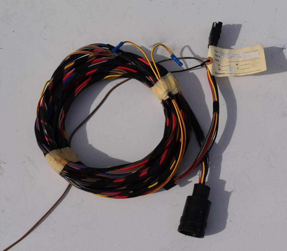 cost for boat wiring harness boat wiring harness fits multiple applications 16ft ...