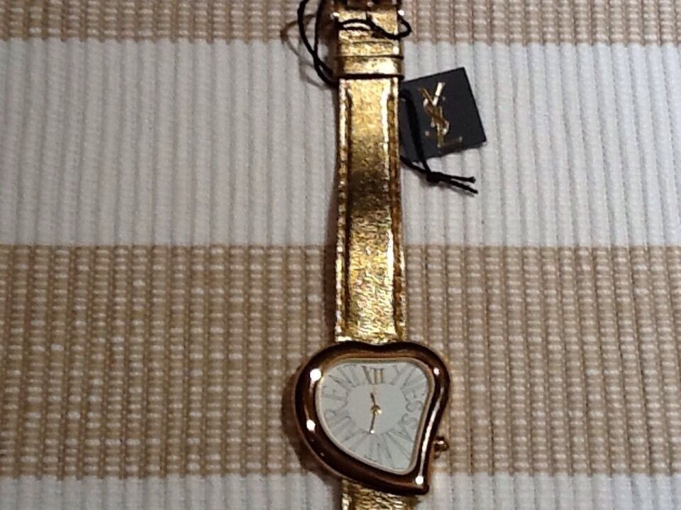 saint laurent baby duffle bag - Genuine Yves Saint Laurent Ladies Watch Leather Band YSL Gold as ...
