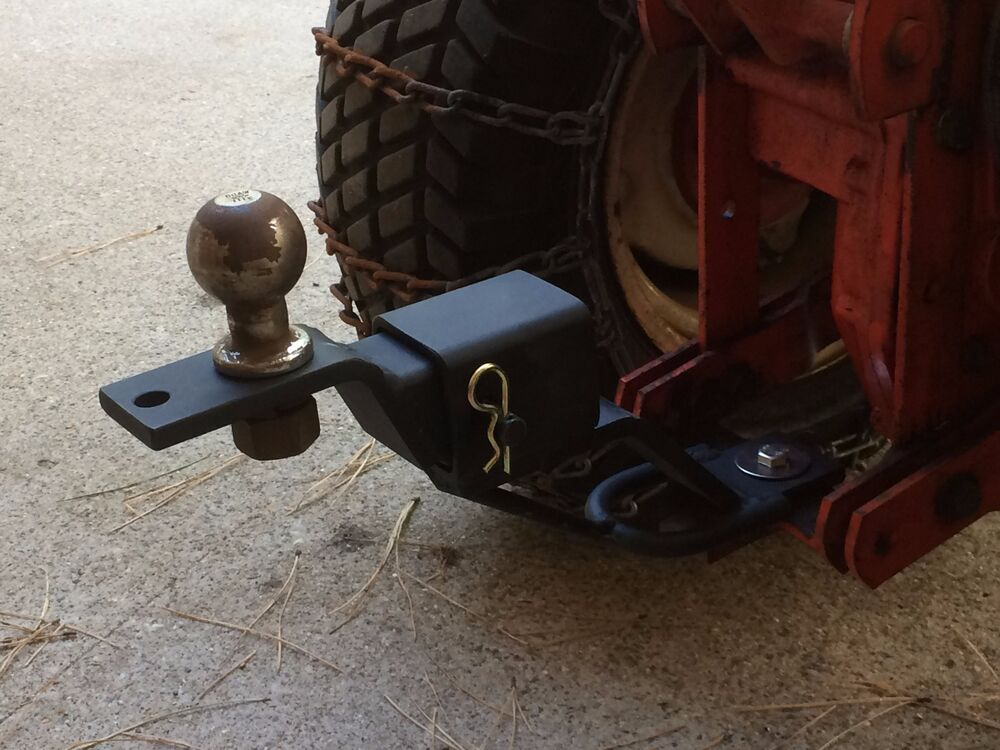 Lawn Tractor Hitch Receiver : Atv lawn garden tractor rise extend receiver hitch