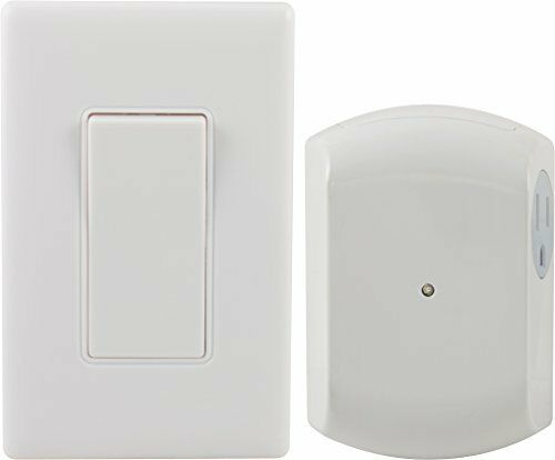 wireless wall switch remote 1 outlet electric receiver rf control light lamp new ebay. Black Bedroom Furniture Sets. Home Design Ideas