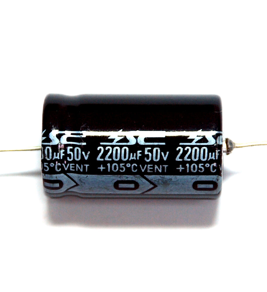 50pc Electrolytic Capacitor Gha 2200uf 50v 105℃ 2000hrs