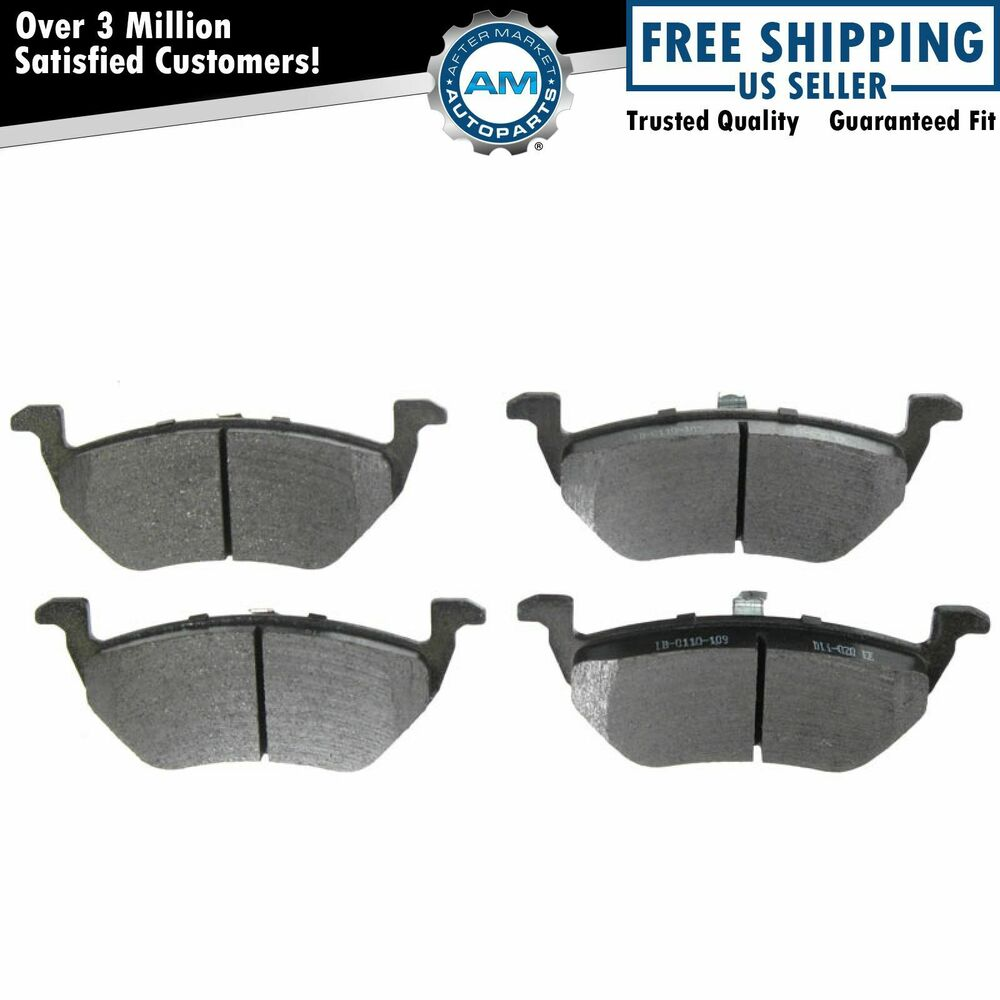 Details About Metallic Rear Disc Brake Pads Set Kit New For Ford Escape Mercury Mazda