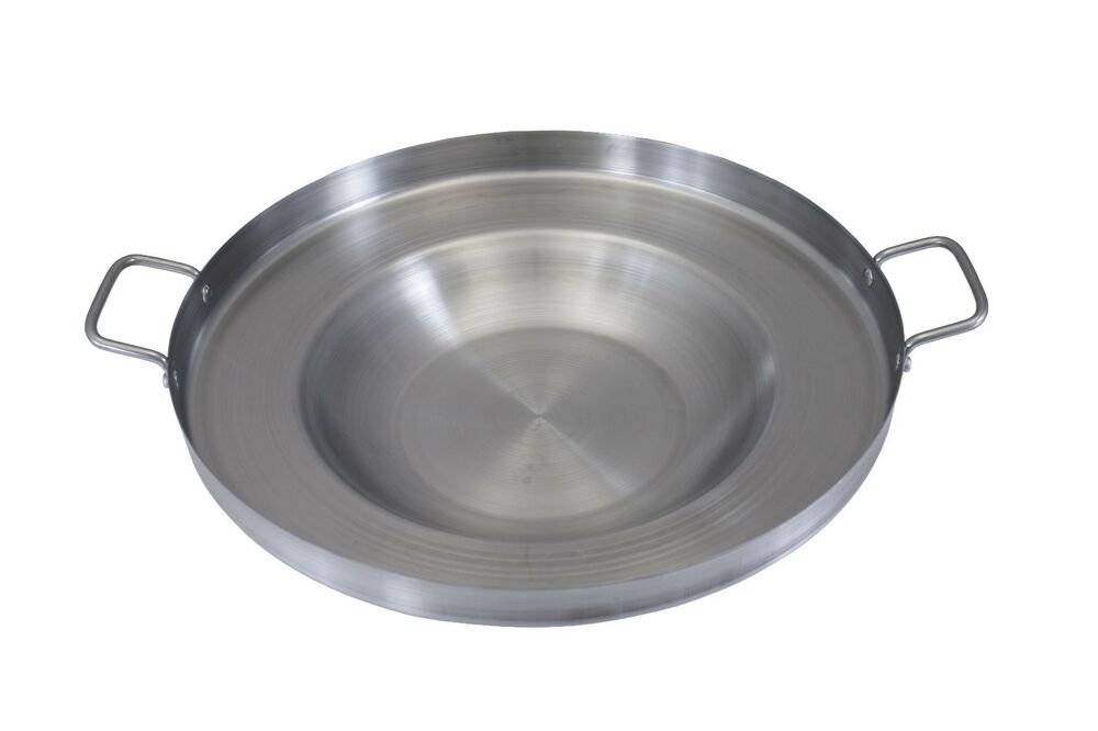 CONCORD Stainless Steel Comal For Taco Fish Frying Griddle Wok Cookware Bowl | eBay