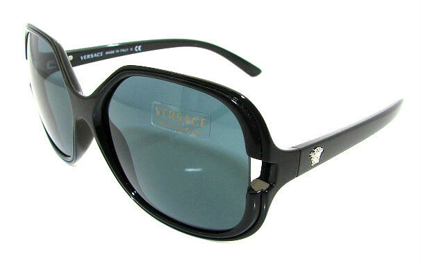 44f5cea17071 Authentic VERSACE Black Butterfly Sunglasses VE 4206 - GB1 87  NEW