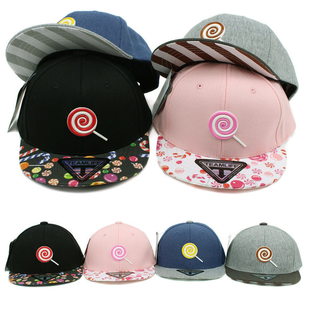 Chocolate Baseball Cap: 3~7 Years Lollipop Candy Children Kids Boys Girls Baseball