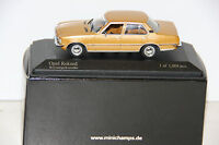 MINICHAMPS 400 044001 OPEL REKORD 1975, GOLD (LIM. 1008 PIECES)