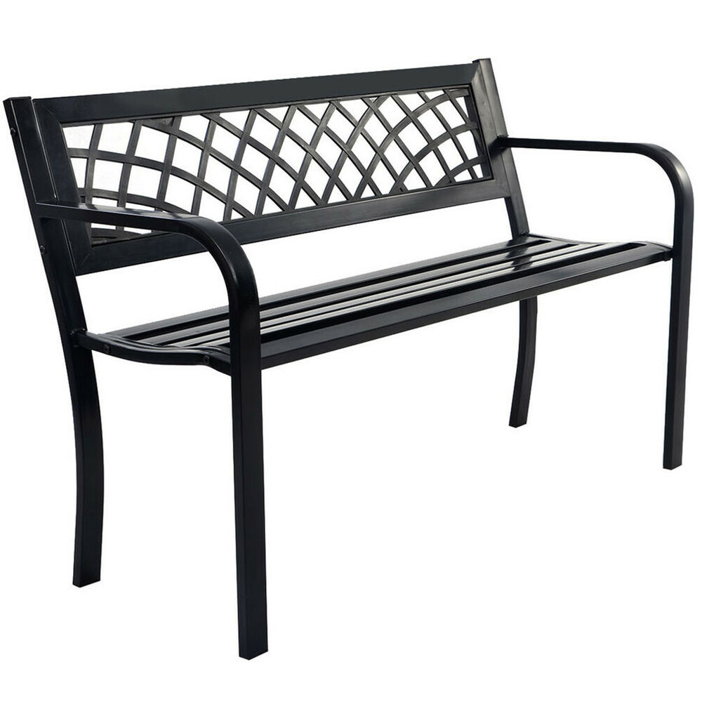 Patio Park Garden Bench Porch Path Chair Outdoor Deck