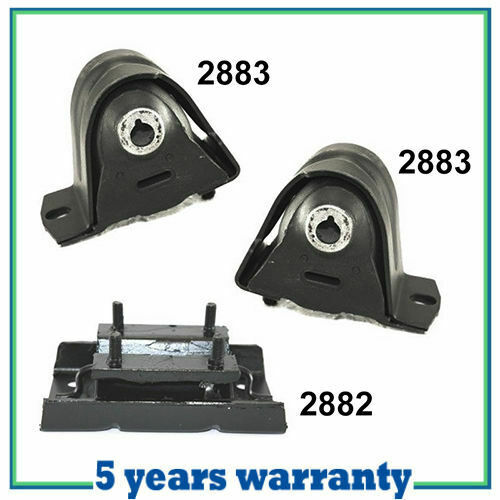 engine motor trans mount m1108 97 06 for jeep wrangler 2 4l 4 0l set 3pcs ebay. Black Bedroom Furniture Sets. Home Design Ideas