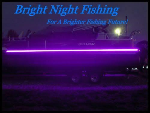 Uv black led strip light night fishing uv ultraviolet boat for Uv fishing light