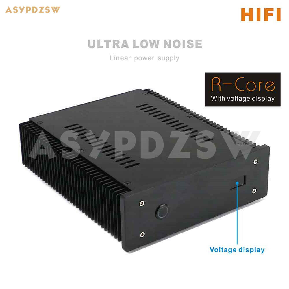 100va Ultra Low Noise 100w Lps R Core Linear Power Supply Dc 5v 24v Supplies Discrete Semiconductor Devices And Circuits With Display Ebay
