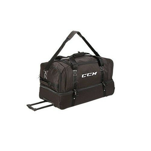 c0663202c37 Details about New CCM EBOFF wheeled hockey referee official s equipment bag  ice 30