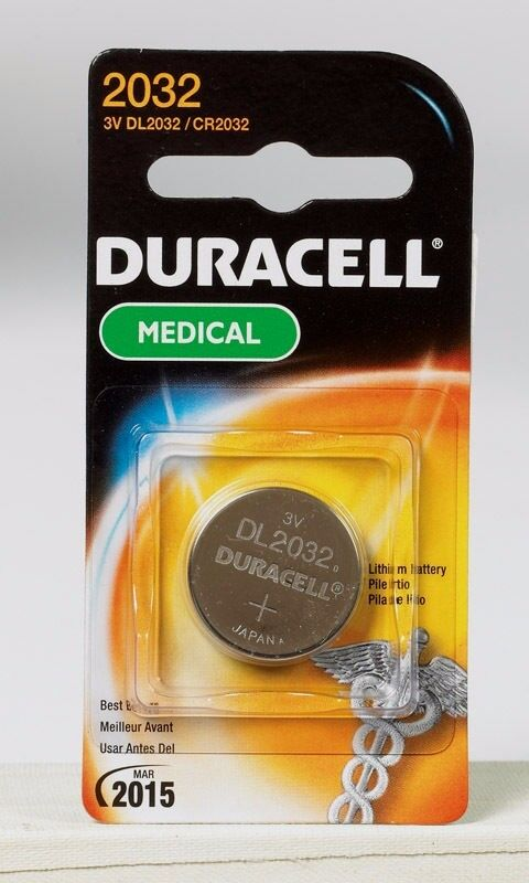 new duracell 2032 medical security fitness watch 3 volt. Black Bedroom Furniture Sets. Home Design Ideas
