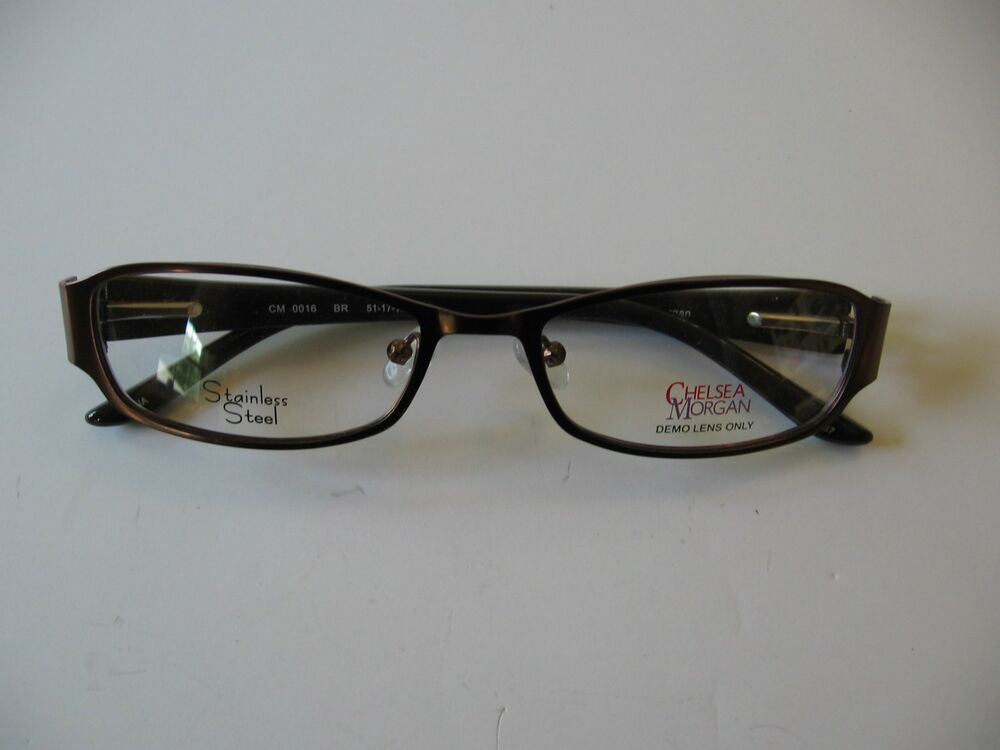 NEW Chelsea Morgan eyeglasses frames CM0016 brown | eBay