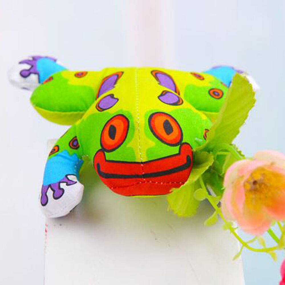 Fat Toy Dogs : Pet dog cat catnip toy fat canvas frog with