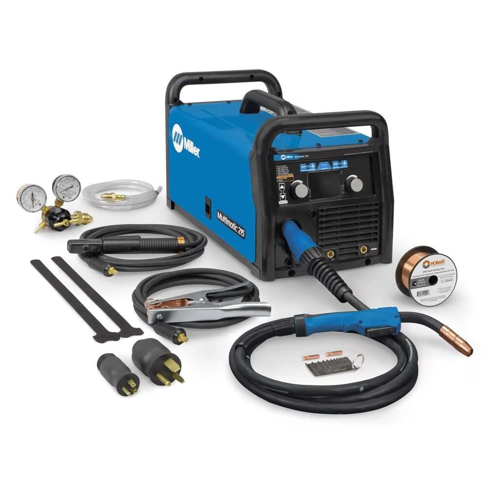 Miller Multimatic 215 >> Miller Multimatic 215 Auto-Set Multiprocess Welder (907693) | eBay
