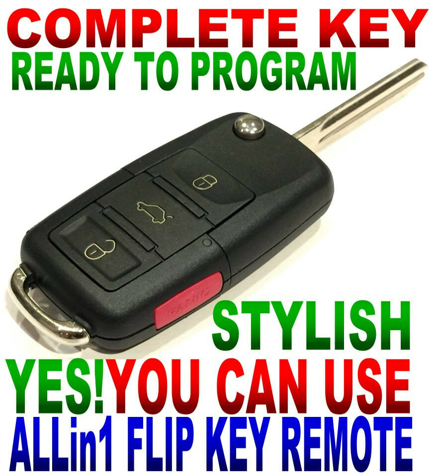 euro flip key remote for 2004 2005 2006 gmc envoy xuv keyless entry 4bt fob m. Black Bedroom Furniture Sets. Home Design Ideas