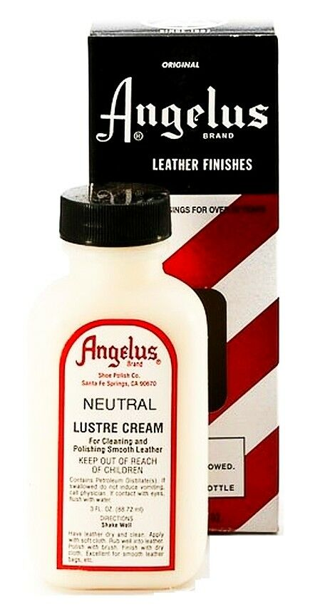 Neutral color Angelus LUSTRE CREAM Cleaner Polish ...