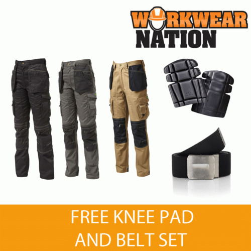 Apache Holster Knee Pad Trouser Workwear Work APKHT - FREE KNEE PAD AND BELT
