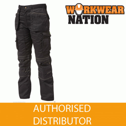 Apache Holster Knee Pad Trouser Workwear Work Cordura APKHT- BLACK