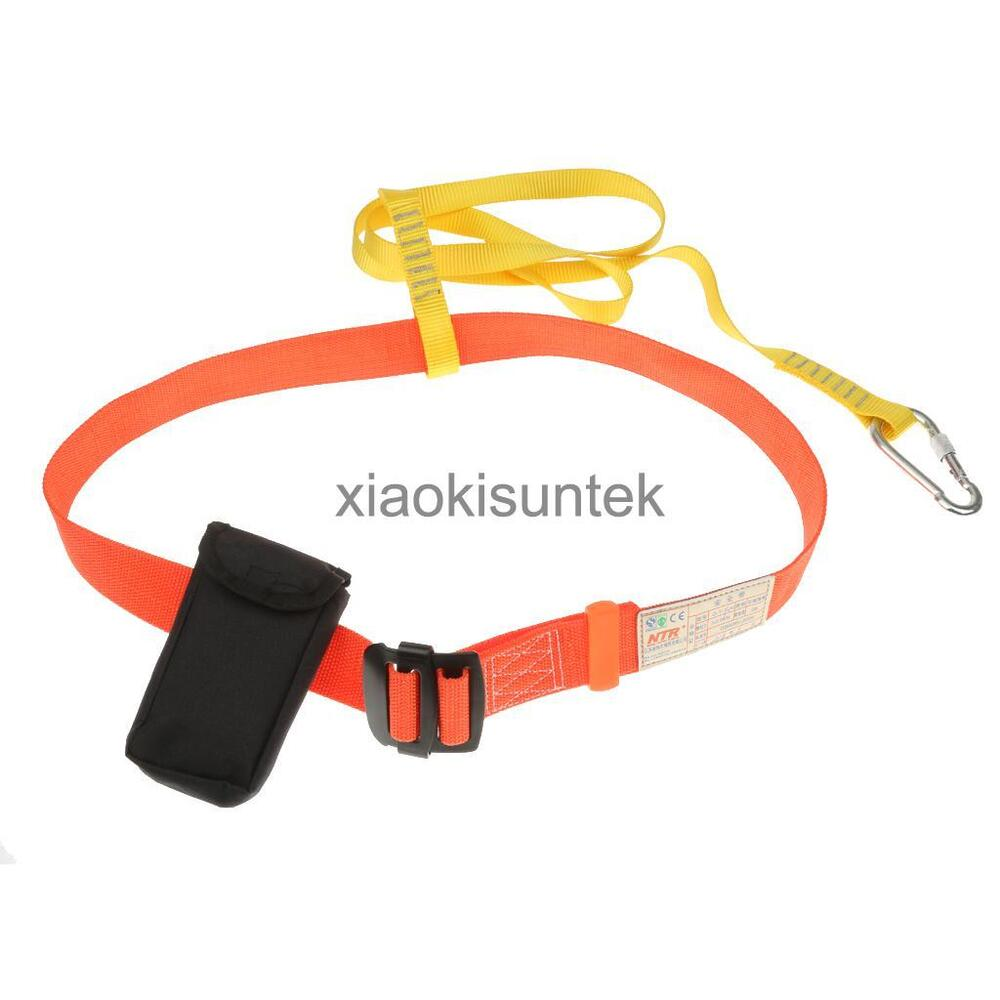 fall protection arrest waist harness with 1 webbing. Black Bedroom Furniture Sets. Home Design Ideas