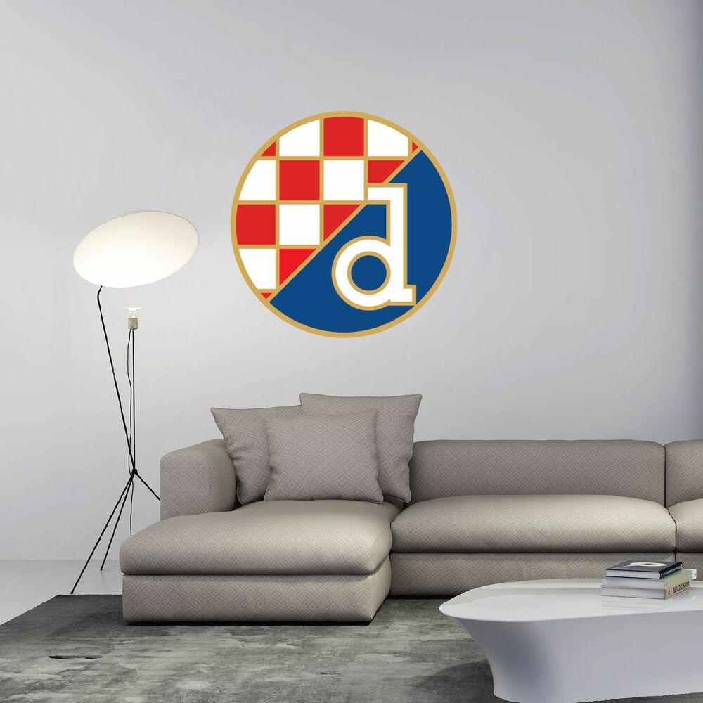 Gnk Dinamo Zagreb Fc Croatia Football Soccer Wall Decor