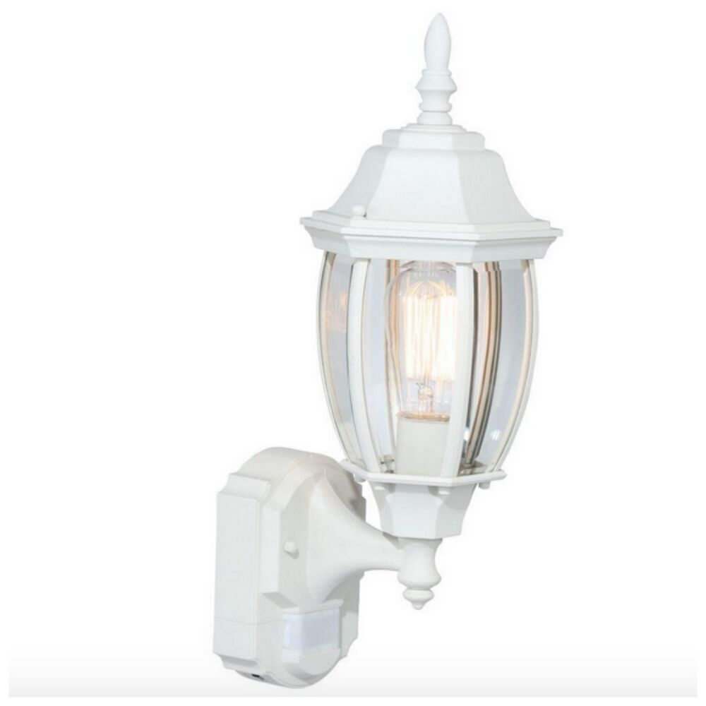 Outdoor exterior porch wall light fixture motion sensor for Outdoor porch light fixtures