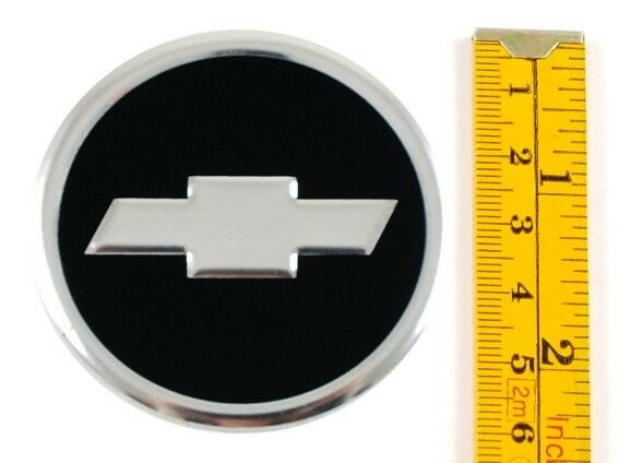 "Chevrolet *4 x NEW* Emblems 60mm (2 3/8"") WHEEL CENTER CAP ..."
